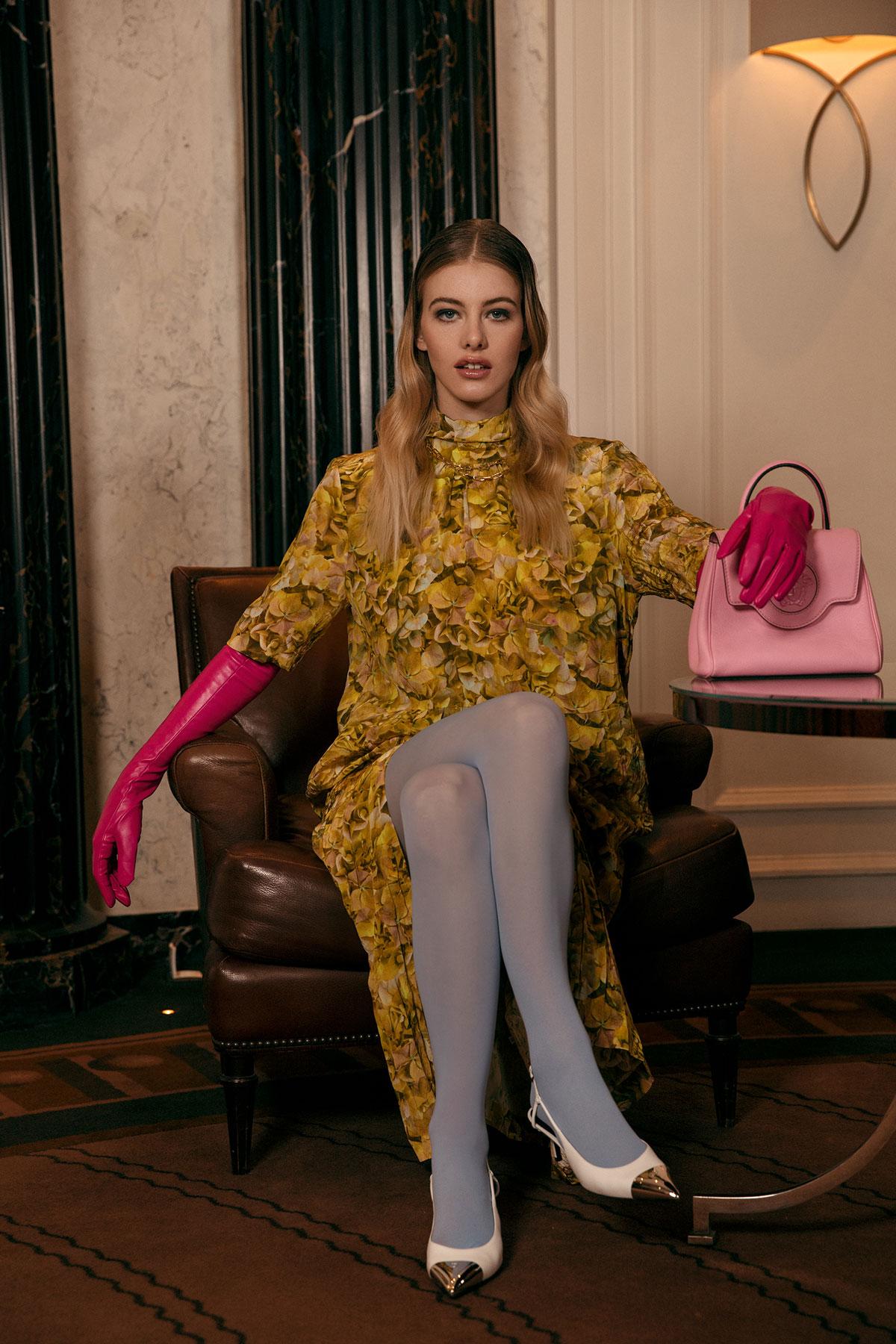 Melanie rieberer makeup artist editorial hair make-up Lofficiel Monaco