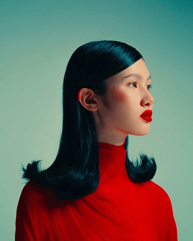 Melanie Rieberer makeup artist hair make-up editorialthe rose